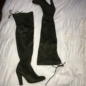 Steven Madden over the knee boots